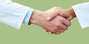 Referring Doctors Handshake